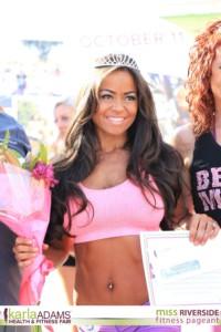 Miss Riverside Fitness Pageant winner